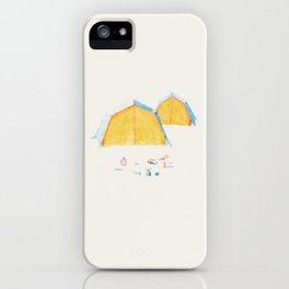 Le Camping iPhone Case