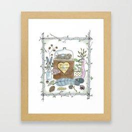 Love, Naturally Framed Art Print