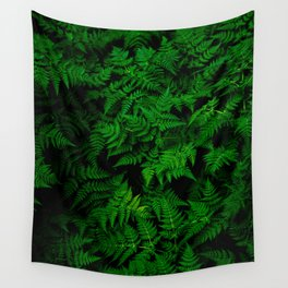 Deep Forest Ferns Wall Tapestry