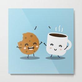 Coffee addicts Metal Print