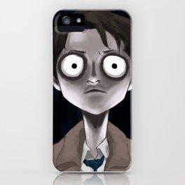 Burtonesque Cas iPhone Case