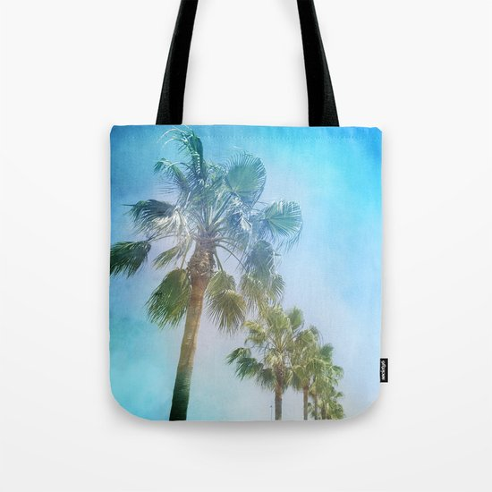 """Palms. Beach"" Tote Bag"