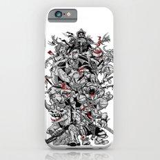 Nuclear Ninja Turtles Black and White iPhone 6s Slim Case