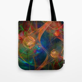 Neuron Network Tote Bag