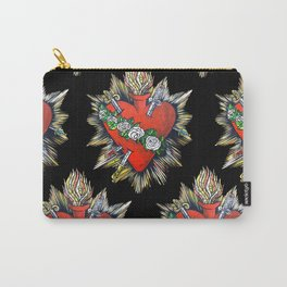 Sacred Heart Sagrado Corazon Carry-All Pouch