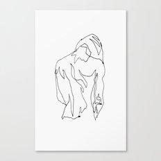 minimal drawing  Canvas Print