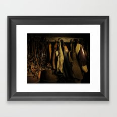 Cowboy Gear at Midnight Framed Art Print