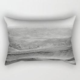 Arad Overlook of the Desert in Israel Rectangular Pillow