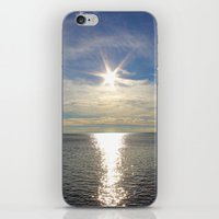 the shining iPhone & iPod Skins featuring Shining by NaturallyJess