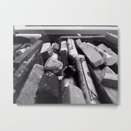 rough around the edges Metal Print