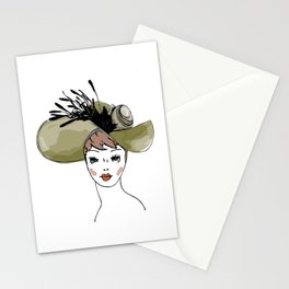 Kentucky Derby Hat Stationery Cards