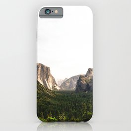 Tunnel View Yosemite National Park California  iPhone Case