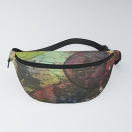 Painting Close Up Fanny Pack
