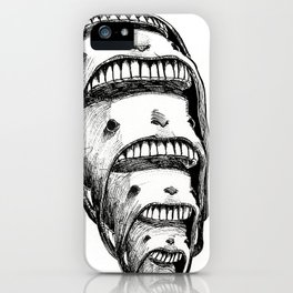 The Faces iPhone Case