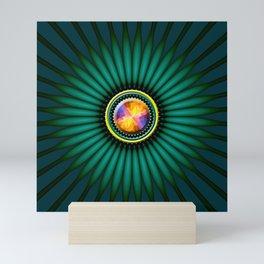 Shinny abstract object Mini Art Print