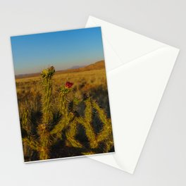 Arose in the Desert Stationery Cards