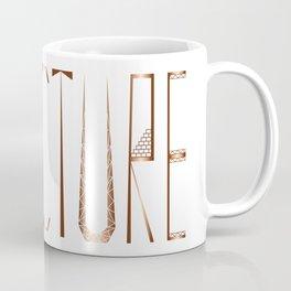 Strucure Typography Grapc Design Coffee Mug