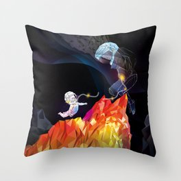 The Newborn Throw Pillow