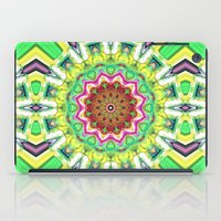 lime green iPad Cases featuring Lime Green Citrus Abstract by Phil Perkins