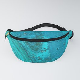 Teal Agate Fanny Pack