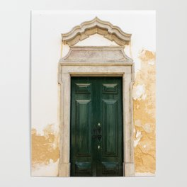 Old door in Tavira, Portugal Poster