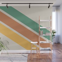 Retro Colours Wall Mural