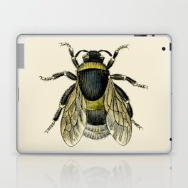 Vintage Bee Illustration Laptop & iPad Skin