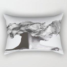 smoke face  Rectangular Pillow