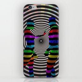 Dissension-3D Art iPhone Skin
