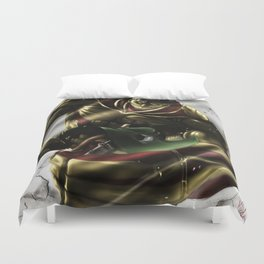 Armored Titan Duvet Cover