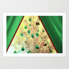 The View At Christmas Art Print