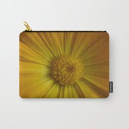 Yellow Aster Carry-All Pouch