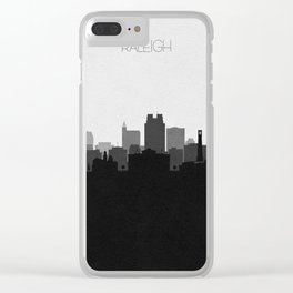City Skylines: Raleigh Clear iPhone Case