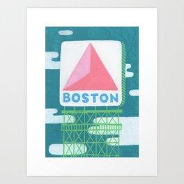 Boston Citgo Sign - Boston Landmarks Art Print