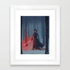 Space Emo Framed Art Print