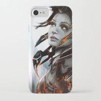human iPhone & iPod Cases featuring Human by Ignacio de la Calle