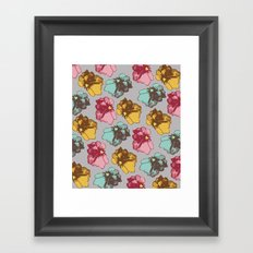 Photographic Florals Framed Art Print