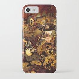 Mad Meg by Heironymus Bosch iPhone Case