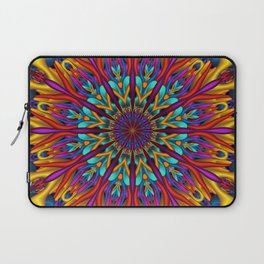 Amazing colors 3D mandala Laptop Sleeve