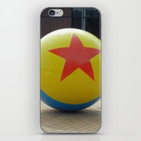 toy story iPhone & iPod Skins featuring Toy Story Ball by Jillian