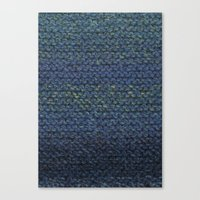 knit Canvas Prints featuring Knit  by SarahKdesigns