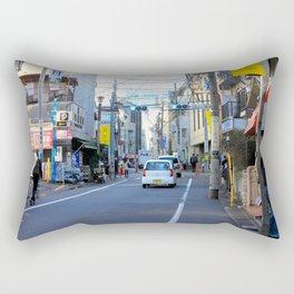 Shibuya Back Streets, Tokyo Rectangular Pillow