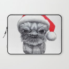 Christmas Ostrich red G145 Laptop Sleeve