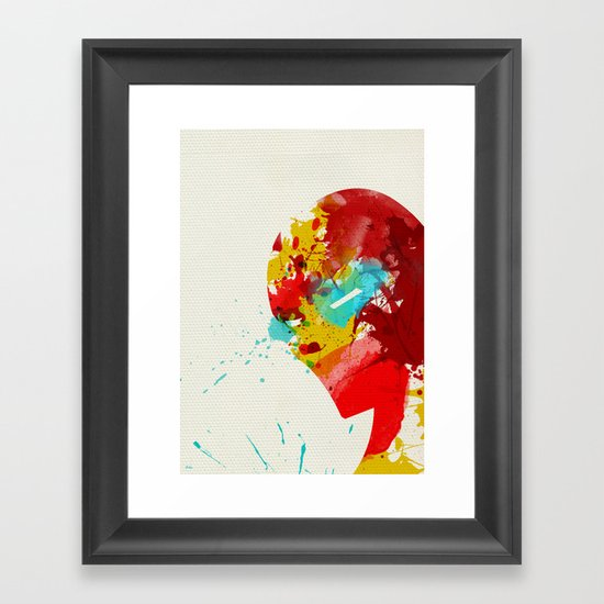 Businessman Framed Art Print