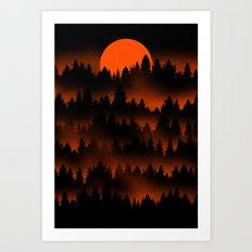 Incendio Art Print