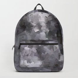 Black and White Waterfall Backpack