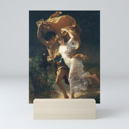 The Storm by Pierre-Auguste Cot 1880, French Mini Art Print