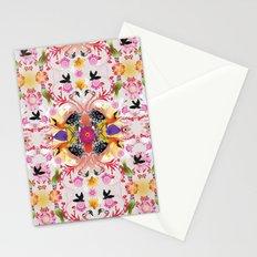 Kaleidoscope Flamingos Stationery Cards