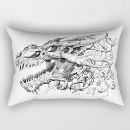 Dragon Skull Rectangular Pillow