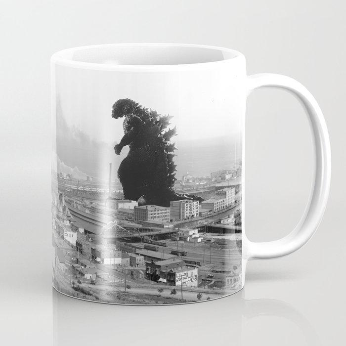 Old Time Gojira Coffee Mug